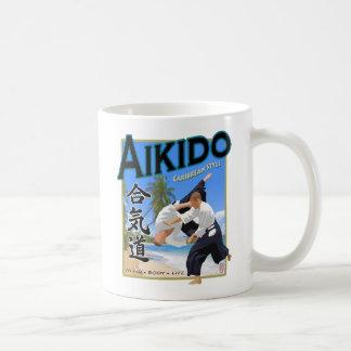Aikido Caribbean Style White Mug