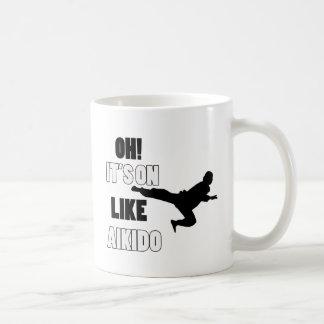 Aikido designs mug