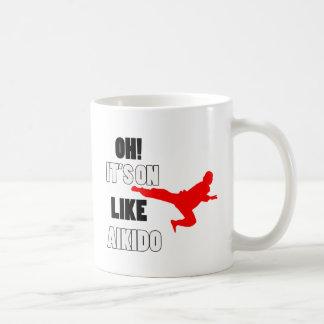 Aikido designs coffee mugs