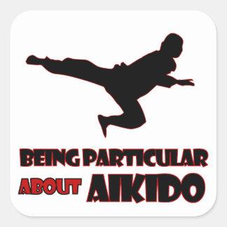 aikido Designs Square Sticker