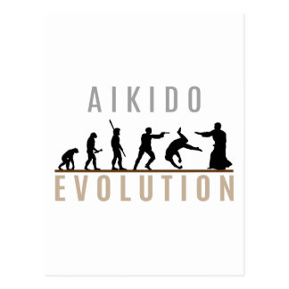 Aikido Evolution Postcard