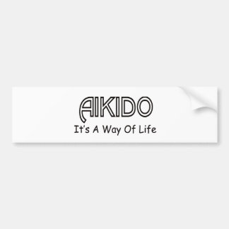 Aikido It s A Way Of Life Bumper Stickers