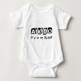 Aikido It's in my blood Baby Bodysuit