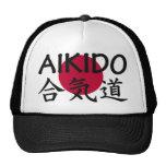 Aikido Japanese Martial Art Trucker Hats