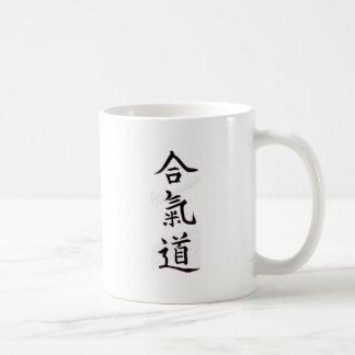 Aikido Kanji Basic White Mug