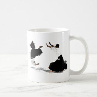 Aikido nage coffee mugs