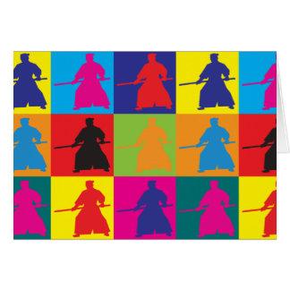 Aikido Pop Art Card