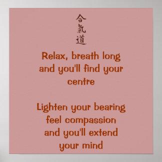 Aikido principles poster