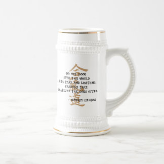 Aikido Quote Beer Stein