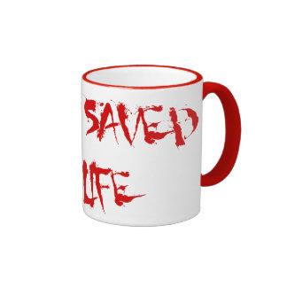 Aikido Saved My Life Ringer Mug