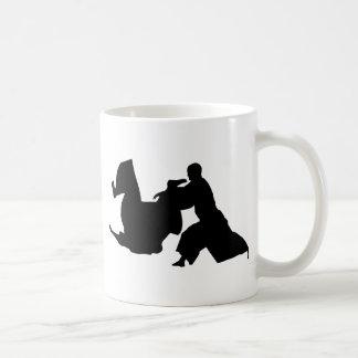 Aikido Silhouette Coffee Mug