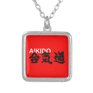 Aikido Silver Plated Necklace