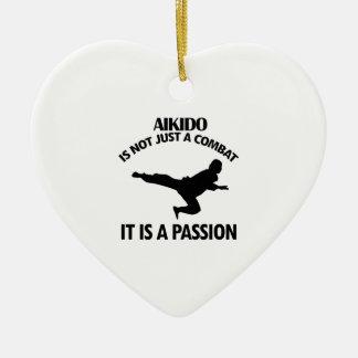 AIKIDO sports designs Christmas Ornament