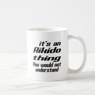 Aikido Thing Designs Basic White Mug