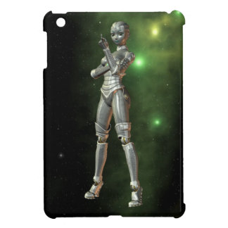 aikobot & stars cover for the iPad mini