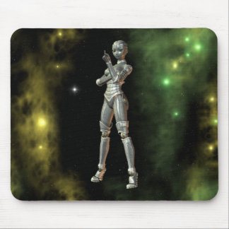 aikobot & stars mouse pad