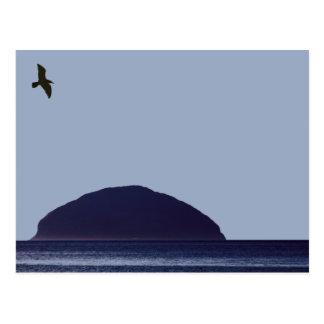 Ailsa Craig Postcard