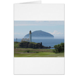 Ailsa Craig, Turnberry Lighthouse Card