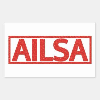 Ailsa Stamp Rectangular Sticker