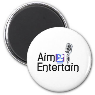 AIM 2 ENTERTAIN FRIDGE MAGNETS