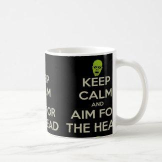 Aim for the Head Basic White Mug