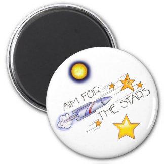 Aim  For The Stars! - Magnet