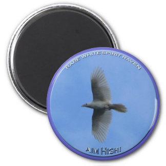"""AIM HIGH"" (Spirit Raven) Magnet"