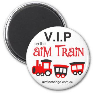 Aim Train - magnet