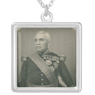 Aimable Jean Jacques Pelissier  Duc de Malakof Silver Plated Necklace