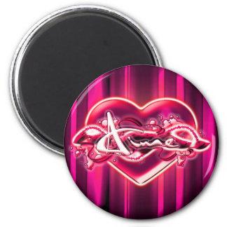Aime 6 Cm Round Magnet