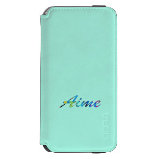 Aime iPhone 6 Wallet Case in Blue Incipio Watson™ iPhone 6 Wallet Case