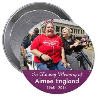 Aimee England Memorial Button