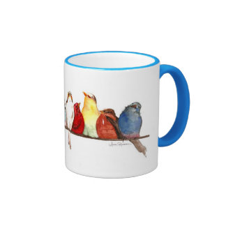 Aimee Rousseau's Birds Mug