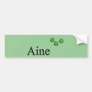 Aine Irish Bumper Sticker