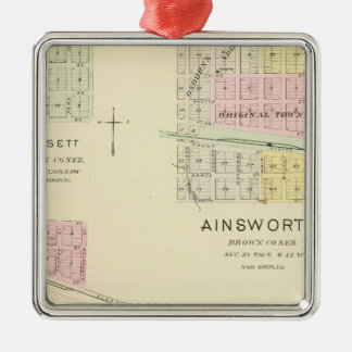 Ainsworth, Nebraska Christmas Ornament