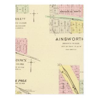 Ainsworth, Nebraska Postcard