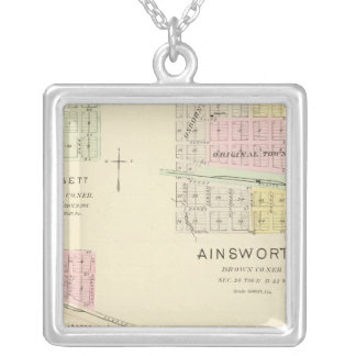 Ainsworth, Nebraska Silver Plated Necklace