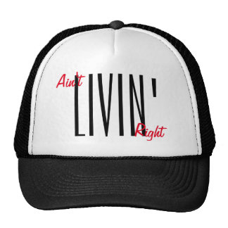 Ain't livin' right snapback by WeedGang Cap