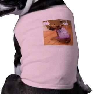 Ain't No Pug Sleeveless Dog Shirt