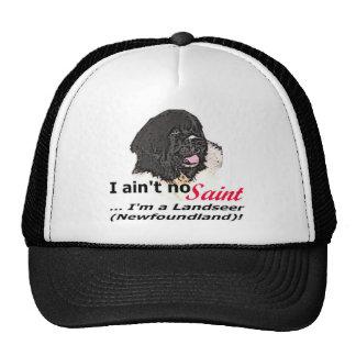 Ain't No Saint... I'm a Landseer (Newfoundland) Cap