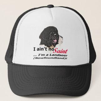 Ain't No Saint... I'm a Landseer (Newfoundland) Trucker Hat