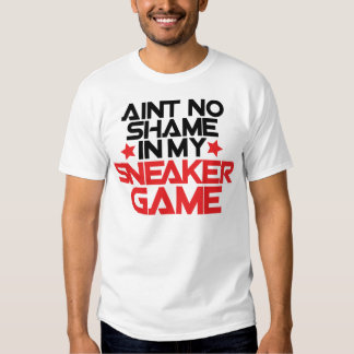 Ain't No Shame in My Sneaker 2 - Bred T-shirt