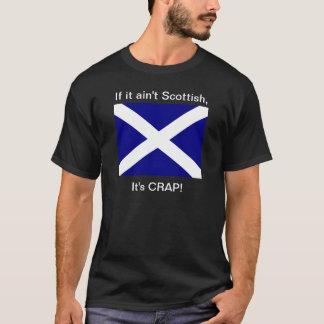 "Ain't Scottish, It's Crap!""  Dark T T-Shirt"