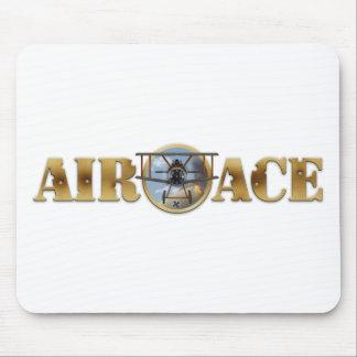 Air Ace Logo Mouse Mat