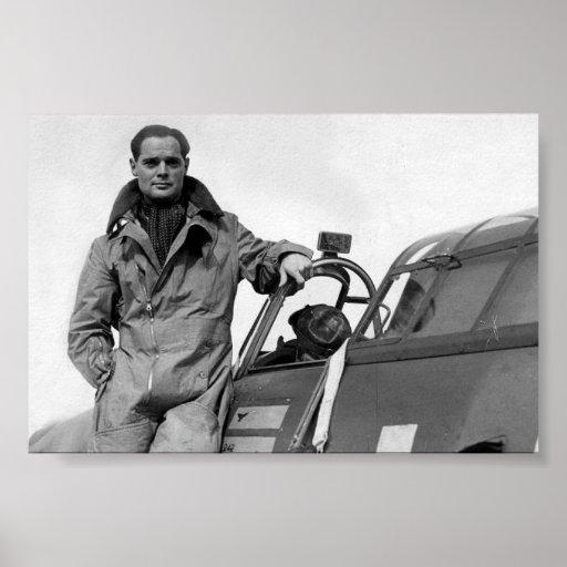 Air Aces: Group Captain Sir Douglas Bader Print