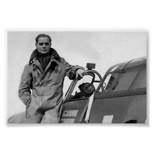 Air Aces: Group Captain Sir Douglas Bader Poster