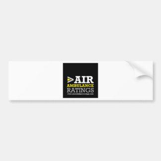 Air Ambulance and Medical Flight Company Ratings Bumper Sticker