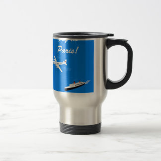 Air and ship Vintage Travel Travel Mug