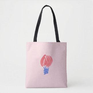 Air Balloon All-Over-Print Medium Tote Bag