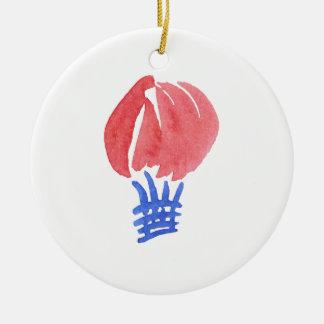 Air Balloon Circle Ornament